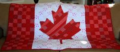 UPDATE: Finally a pattern! Go check out the finished pattern on my craftsy page. Links are here: Baby size Crib size Throw size Hope you enjoy! I teased you a while ago with pics of the fabrics for The Canada Quilt. And … Continue readingThe Canada Quilt Flag Quilt, Patriotic Quilts, Quilt Blocks, Canadian Quilts, Canadian Flags, Quilts Canada, Sewing Crafts, Sewing Projects, Quilt Of Valor