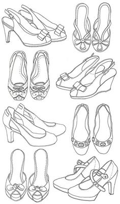 Shoes, beautiful shoes  - for some projects: enlarge
