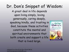 June 19 How We Should Live don.huntington@gmail.com
