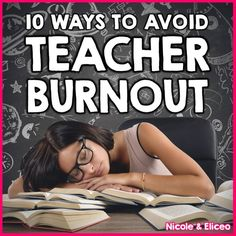 10 great tips to help new teacher reduce stress to avoid burnout before the end of the year