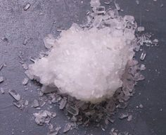 Magnesium sulfate in the form of Epsomite (epsom salt). Epsom salt wiki -- Magnesium+ Sulfur+Oxygen -- to Add to soil to correct pH, sulfur, and Mg deficiencies Epsom Salt Magnesium, Magnesium Sulfate, Magnesium Deficiency, Foot Remedies, Natural Remedies, Health Remedies, Epsom Salt Uses, Blackhead Remedies, Plantation