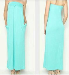 The relaxation dress - Green blue
