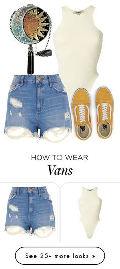 """""""Untitled #618"""" by the-indie-rock-queen on Polyvore featuring Yeezy by Kanye West, River Island and Vans"""