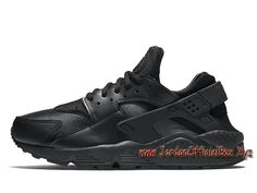the latest 7351f e0b3a Nike Wmns Air Huarache Run Noires 634835012 FemmeEnfant Officiel urh  Noires - 1705140827 -