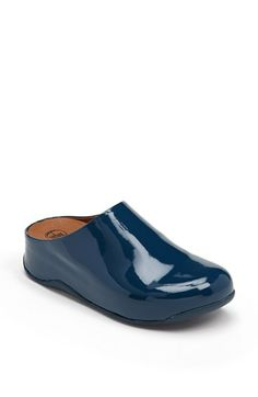 16254e32d FitFlop  Shuv  Faux Patent Clog available at  Nordstrom (Shel says  super