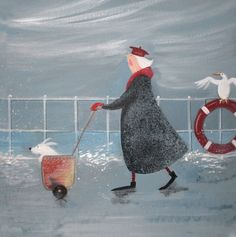 'The Navigator' by Jennifer Verny-Franks. Blank Art Cards by Green Pebble…