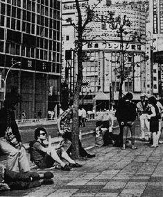 70年代、風月堂、新宿文化、新宿アートシアター、蠍座、天井桟敷館、新宿アートビレッジ、草月会館、ぐゎらん堂、新宿ピットイン、赤坂ムゲン、渋谷ジャンジャン、模索社、新宿ゴールデン街