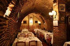 Restaurante Sobrino de Botin. Madrid 2007