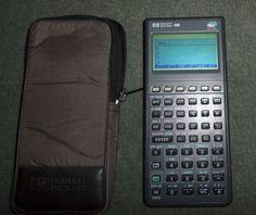 Vintage 1993 Hewlett Packard Hp 48G Graphic Calculator 32K Ram Graphing, GUC!  #HewlittPackard