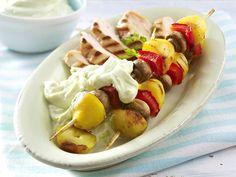 Grill-Rezepte - das Beste vom Rost - kartoffel-gemuese-spiesse