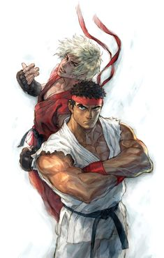 Ken, Ryu, Street Fighter IV