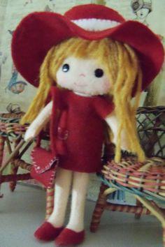 Kell's Belles Bridgett OOAKfelt doll doll by MimisBackPorch