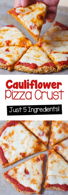 Cajun Delicacies Is A Lot More Than Just Yet Another Food Cauliflower Pizza Crust - Ingredients: 1 Cauliflower, 14 Cup Water, 1 Tsp Oregano, 2 Tbsp. Low Carb Recipes, Whole Food Recipes, Vegetarian Recipes, Cooking Recipes, Healthy Recipes, Egg Free Recipes, Vegan Vegetarian, Easy Recipes, Easy Cauliflower Pizza Crust