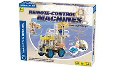 Thames and Kosmos- Remote Control Machines. Kit includes instruction book. #toys2learn#thames&kosmos#science#kits#remotecontrol#machines#models#construction#gift#kids#children#teaching#learning#aids#home#school#educational#gifts#toys#australia#