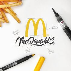 Artista redesenha logos famosos utilizando lettering - Publicitários Criativos