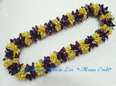 Hawaiian Ribbon Leis  *Moani Craft*の画像