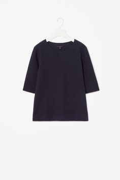 COS | Embossed jersey top