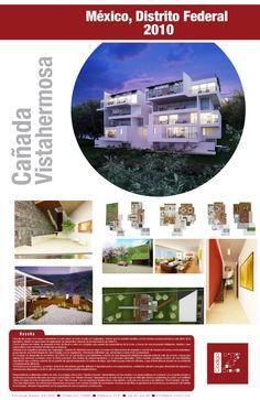 Proyecto Cañada Vistahermosa. Residencial. México D.F.