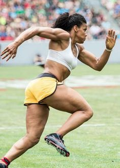 Mother and CrossFit Games athlete Elisabeth Akinwale - cellulite. this is validating. all the crossfit in the world won't rid you of cellulite. it's genetics. you can lessen it with proper diet and exercise, but you can't re-engineer your skin structure.