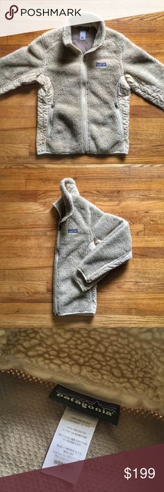 Patagonia Fall '11 Retro X Fleece Jacket PRICE IS FIRM - OFFERS NOT ACCEPTED  Patagonia Fall '11 Retro X Fleece Jacket.  Size small.  Pre-owned in excellent condition.  Deep pile Fleece in a cream color. Patagonia Jackets & Coats
