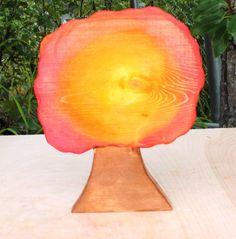 Autumn Seasonal Tree Wooden Landscape by MonkeyandBeanDesigns, $22.00