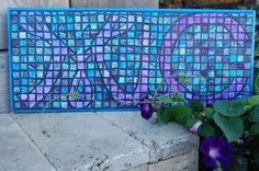 I'm so excited to share my gelli print mosaic with the group. After printing on my gelli plate with with Folk Art neon craft paints I chopped them into strips then tiny squares to use as tiles for my mosaic. Check out my blog for my day to day progress. http://micisip.blogspot.com/2015/09/gelli-mosaic.html