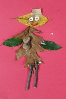 Make leaf people- fun Fall art for kids