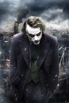 The Dark Knight Trilogy - The Joker by on DeviantArt Joker Batman, Batman Joker Wallpaper, Joker Iphone Wallpaper, Heath Ledger Joker, Joker Wallpapers, Batman Dark, Joker Art, Kawaii Wallpaper, Phone Wallpapers