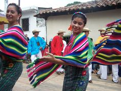 Traditional dancers, Panchimalco, El Salvador. Photo by: Ana Silva