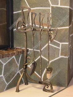 k12 Blacksmith Projects, Fireplace Tools, Metal Shop, Fireplace Accessories, Iron Work, Clay Projects, Blacksmithing, Wrought Iron, Welding
