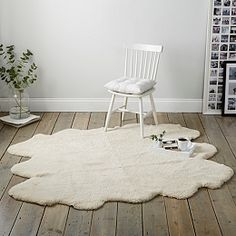 Buy Sexto Curly Pearl Shearling Rug - from The White Company The White Company, Sheepskin Rug, Comfortable Sofa, Furniture Sale, Rustic Charm, Shag Rug, Home Accessories, Contemporary, Pearls