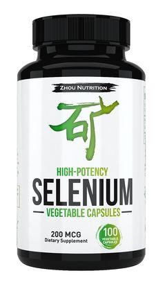 Selenium with Vegetable Capsules