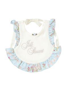 Baby bib by JILLSTUART NEWYORK / 洋服みたいでオシャレなスタイ♪ #babybibs #mama #スタイ #よだれかけ #kids #babygoods