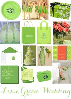 Lime Green Wedding