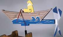 Rowboat Whirligig Plan