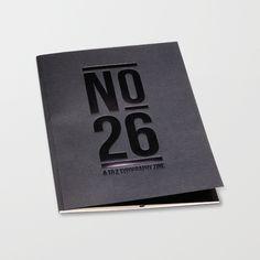 No.26 - A to Z Typography Zine