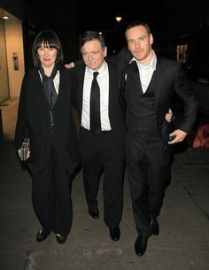 Michael Fassbender Leaves A Miramax Party (February 12, 2012)