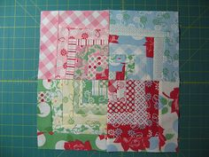 Quilt Dad: Quilt Along | 6. Wonky Bento Box-Style Block