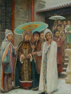 Hu JunDi - artista chinês