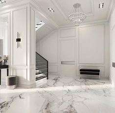 Enhance Your Senses With Luxury Home Decor Apartment Interior Design, Luxury Homes Interior, Luxury Home Decor, Home Room Design, Living Room Designs, Modern Classic Interior, Home Entrance Decor, Neoclassical Interior, Hallway Designs