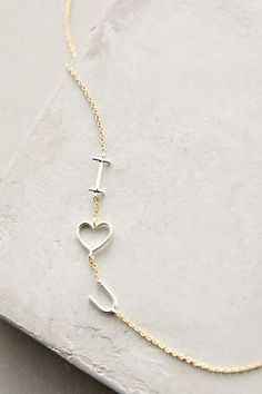 Linked Love Necklace #AnthroFave