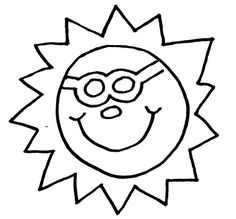 Free Coloring Pages Of Sunglasses In Spanish