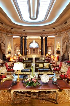 Barcelona's gilded grande dame, the 125-room El Palace first opened as the Ritz in 1919. #Jetsetter