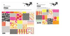 #Highline by #basicgrey love colors & prints! #sscrapbooking