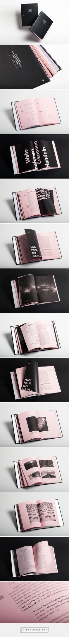 Master's Thesis Book Design on Behance - created via https://pinthemall.net