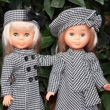 Resultado de imagen de muñeca nancy vestidos catalogo 1992 Nancy Doll, Doll Home, Child Doll, Vintage Dolls, American Girl, Doll Clothes, Free Pattern, Sewing, Disney