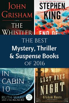 """Want a spine-tingling, edge-of-your-seat read? A story that will leave you saying, """"Wha-?!"""" The editors at Amazon have chosen their top 20 Best Books of 2016: Mystery, Thriller, and Suspense. Click the titles to learn more about each book. If you've read any of them, leave a comment below and let us know what you …"""