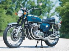 Fast, smooth, affordable, and boasting a four-cylinder engine, the 1969 Honda CB 750 was a landmark in motorcycle history. See more motorcycle pictures.