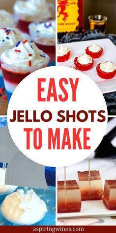 Looking for some great Jello Shots Recipes for your next party? You are in luck because we have the best of the best right here! Tequila Jello Shots, Lemonade Jello Shots, Watermelon Jello Shots, Easy Jello Shots, Candy Corn Jello Shots, Strawberry Margarita Jello Shots, Peach Jello, Making Jello Shots, Champagne Jello Shots