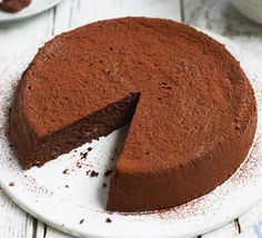 This rich, gluten-free torte has an irresistible chocolate & spice mix. An easy weekend treat or dinner party dessert you can make in advance